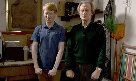 Tim and his father (Bill Nighy)