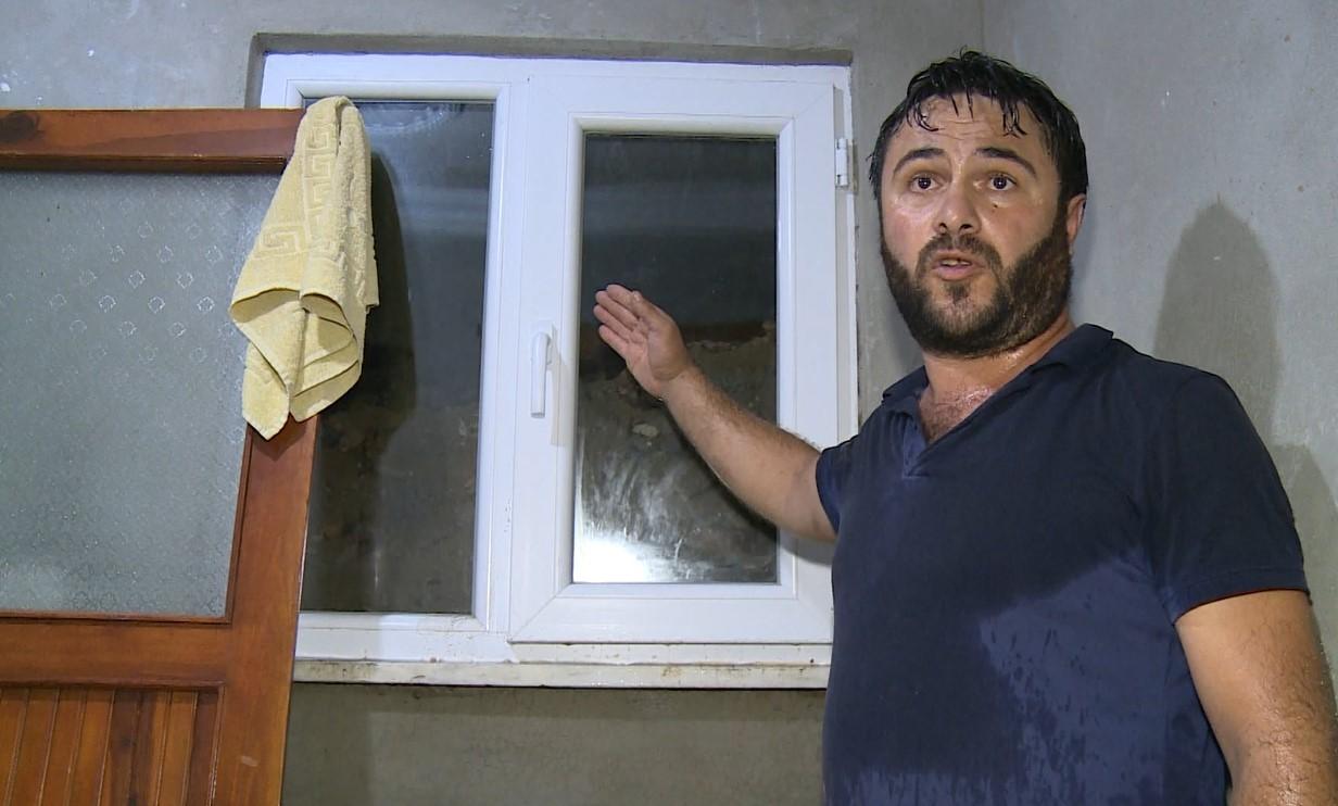 Rize'de şiddetli yağış etkisini gösterdi