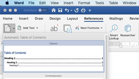 Membuat Daftar Isi Dapat Diklik Pada Microsoft Word Di Mac Os Rizky Pratama