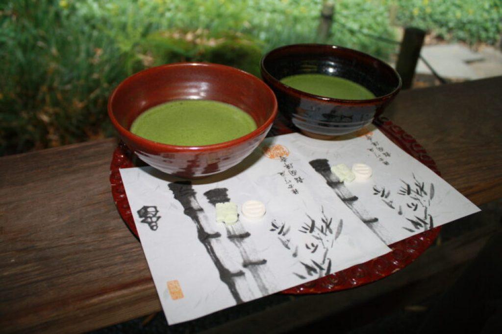 報国寺 抹茶