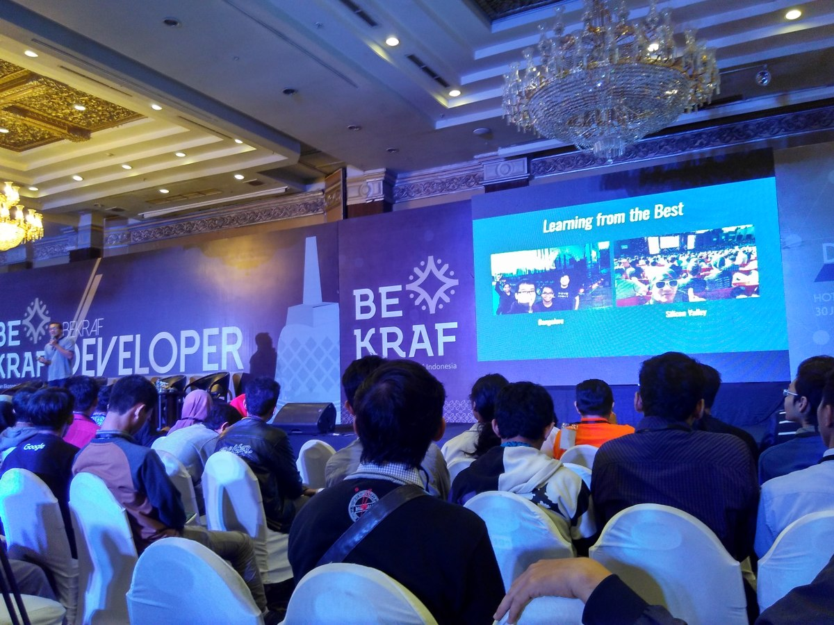 BEKRAF Developer Day 2016