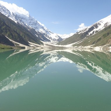 Lake Saif ul Malook, June 2014