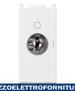 Interruttore 2P 16AX +chiave bianco