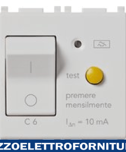 Interruttore MTDiff. 1P+N C6 10mA Silver