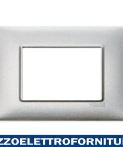 Placca 3M argento metallizzato