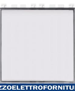 Pulsante targhetta 1P NO 10A bianco