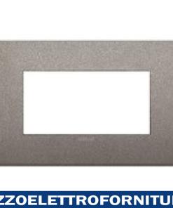 Placca Classic 4M titanio matt
