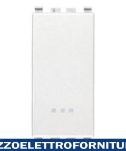 Interruttore 1P 16AX bianco