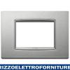Placca Classic 3M argento matt