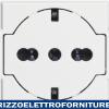 BTICINO axolute - presa std ted/ita flat bianco