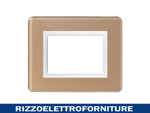 PLACCA PERSONAL44 BEIGE LUCIDO 3M
