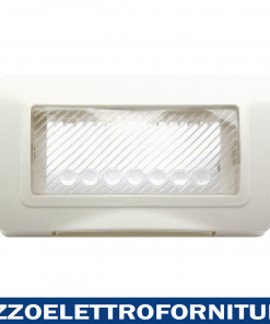 PLACCA IP55 RAL9010 MEMBRANA S44 4M