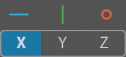 AxoTools Transform panel axis