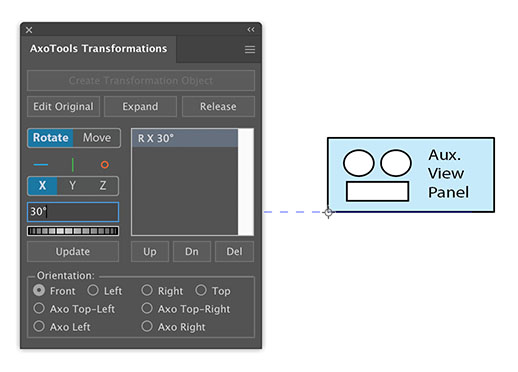 AxoTools Auxiliary view 2