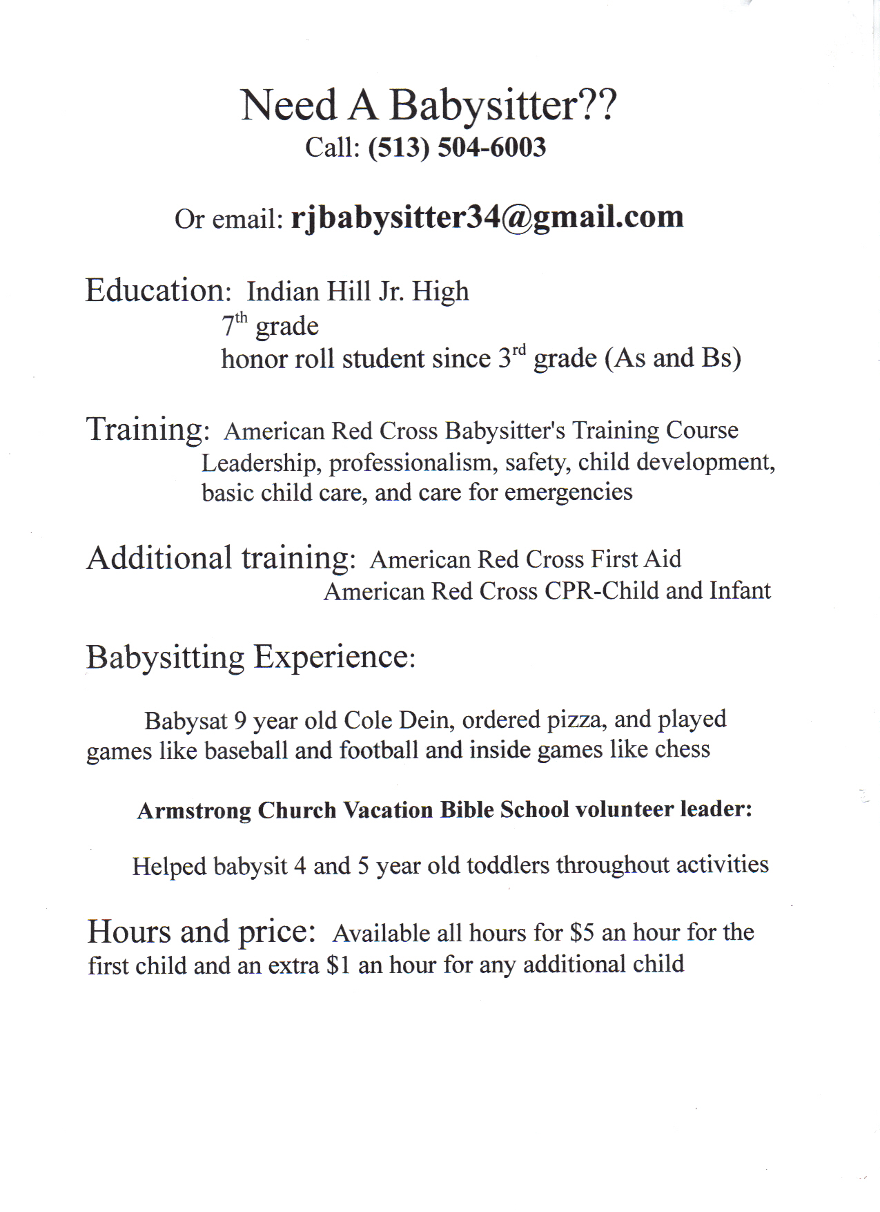 writing a letter of recommendation babysitter network writing a letter of recommendation babysitter network