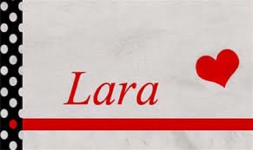 معنى اسم لارا مجلة رجيم