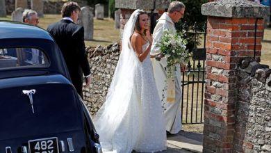 Photo of فساتين زفاف المشاهير في عام 2018؟ بينها فستان غريب من ZARA