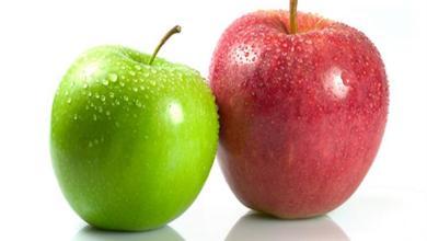 صورة تعرف على 8 فوائد عجيبة للتفاح الأحمر و الأخضر