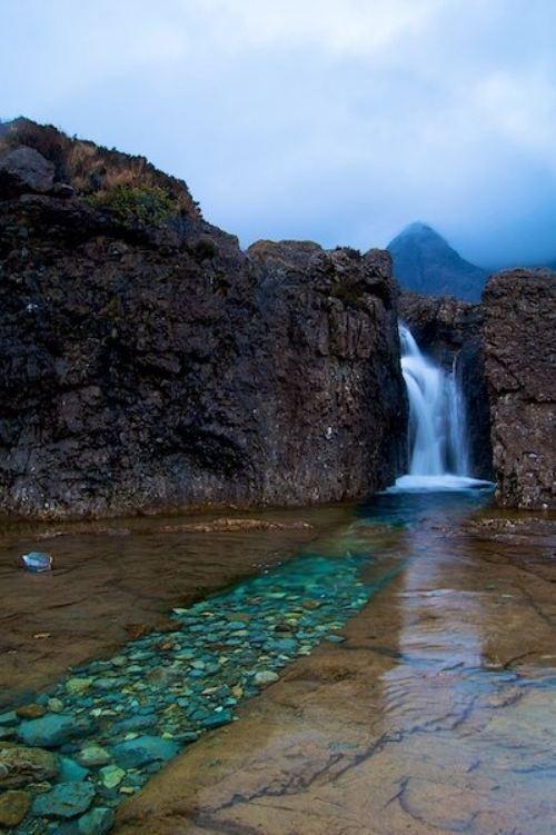 الجنية ، جزيرة سكاي ، اسكتلندا