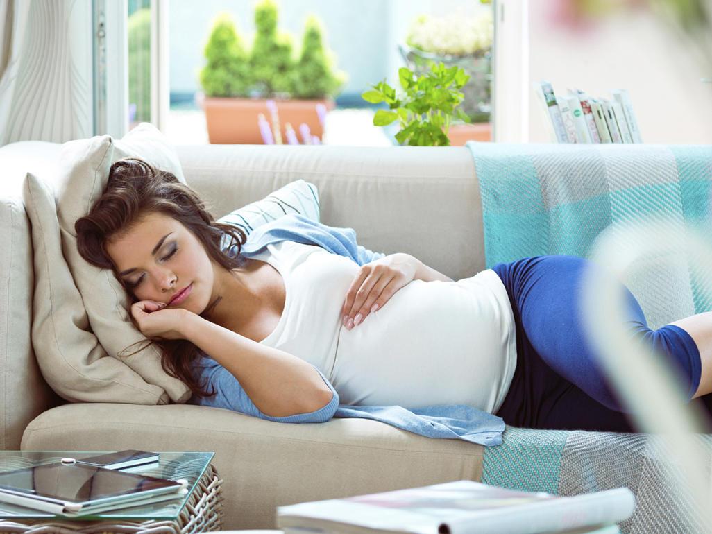 نوم الحامل