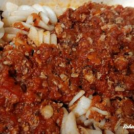 Fusilli Bolognese