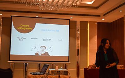 Blogging workshop -4