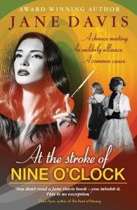 Cover of At the Stroke of Nine o'Clock by Jane Davis