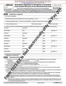 Form 1023-EZ (June 2014) - f1023ez