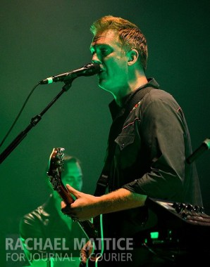 Queens of the Stone Age perform at the Murat Theatre in Indianapolis, Ind. on Tuesday, September 17, 2013. (Photo by Rachael Mattice/Journal & Courier)