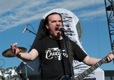 Carcass performed at Knotfest festival at San Manuel Amphitheater in San Bernardino, Calif. on Saturday, Oct. 25, 2014. (Photos by Rachael Mattice/Metal Insider)