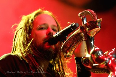 Korn performed on the main stage at Knotfest at San Manuel Amphitheater in San Bernardino, Calif. on Saturday, October 24, 2015. (Photo by Rachael Mattice/For Metal Insider)