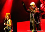Judas Priest headlined the main stage at Knotfest at San Manuel Amphitheater in San Bernardino, Calif. on Saturday, October 24, 2015. (Photo by Rachael Mattice/For Metal Insider)