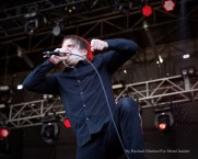 """""""Deafheaven vocalist George Clarke performs at Chicago Open Air music festival on Saturday, July 15, 2016 at Toyota Park in Bridgeview, Ill. Photo by Rachael Mattice/For Metal Insider."""""""