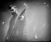 """""""Chevelle bassist Dean Bernardini performs at Chicago Open Air music festival on Friday, July 14, 2016 at Toyota Park in Bridgeview, Ill. Photo by Rachael Mattice/For Metal Insider."""""""