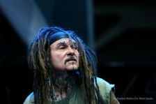 """""""Ministry vocalist Al Jourgensen performs at Chicago Open Air music festival on Friday, July 14, 2016 at Toyota Park in Bridgeview, Ill. Photo by Rachael Mattice/For Metal Insider."""""""