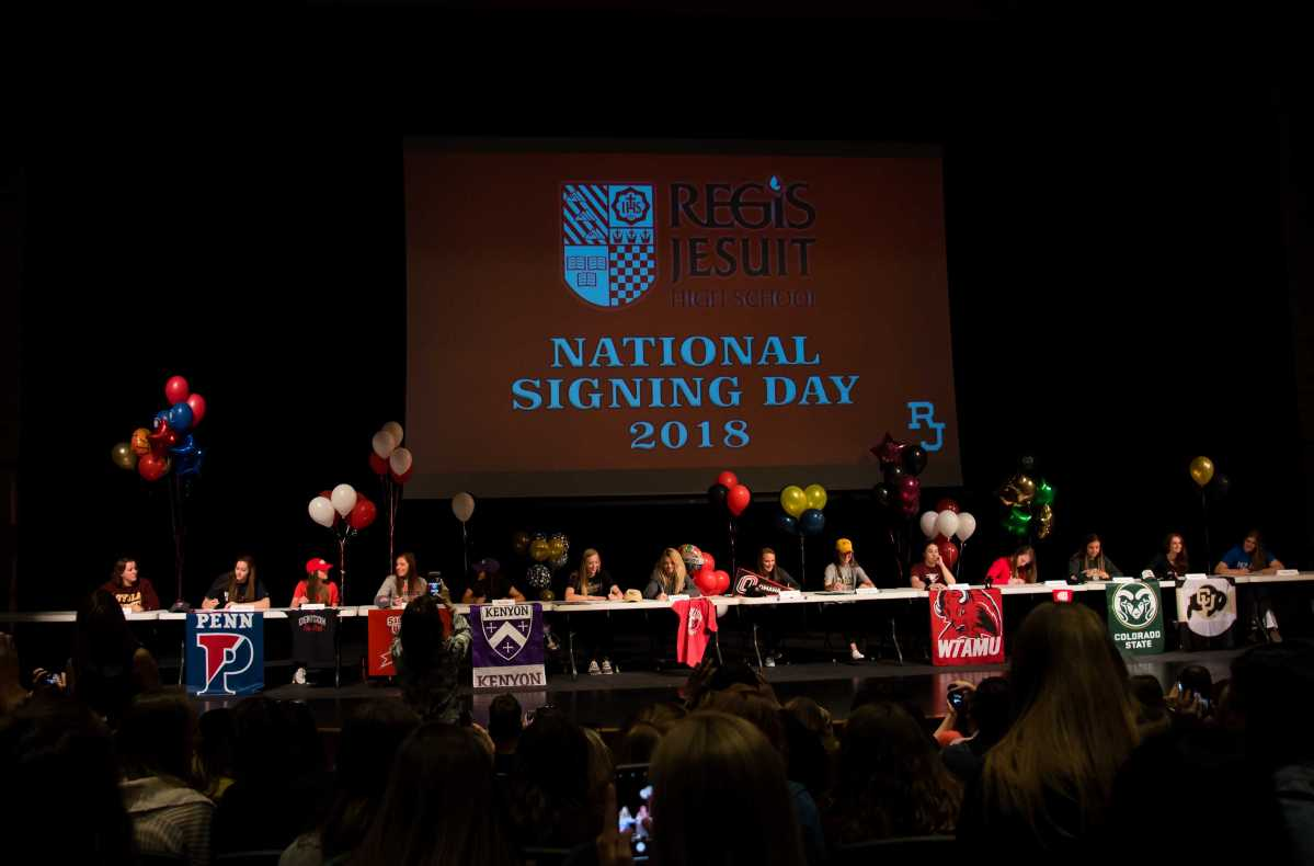 14 More RJ Athletes Sign NCAA Letters of Intent