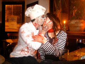 Zombie Kissing