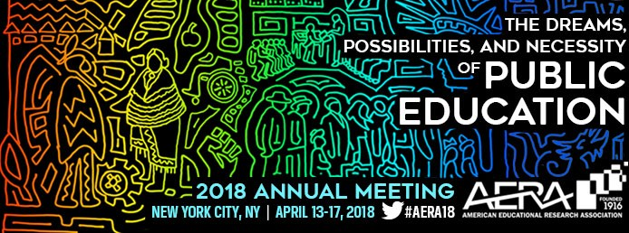 RJN! Director speaks at American Education Research Association 2018 Conference