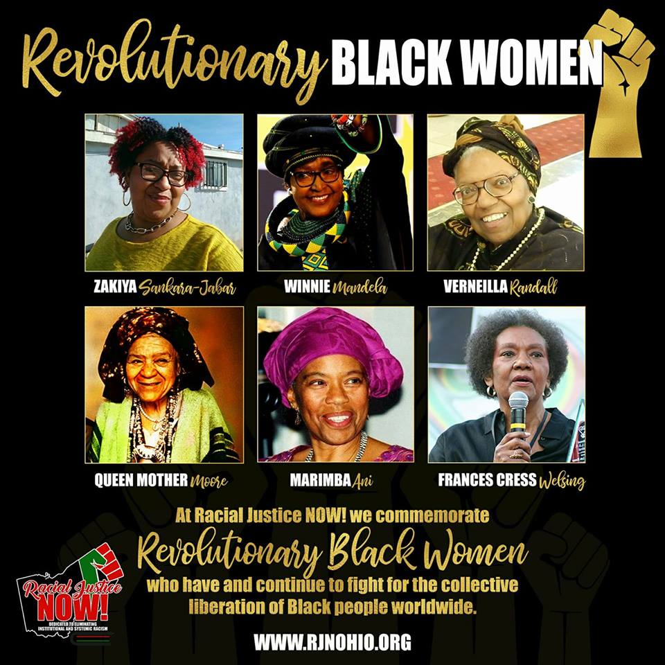 We honor revolutionary Black women today and everyday, especially our fierce Co-Founders: Zakiya Sankara-Jabar and Professor Verneilla Randall