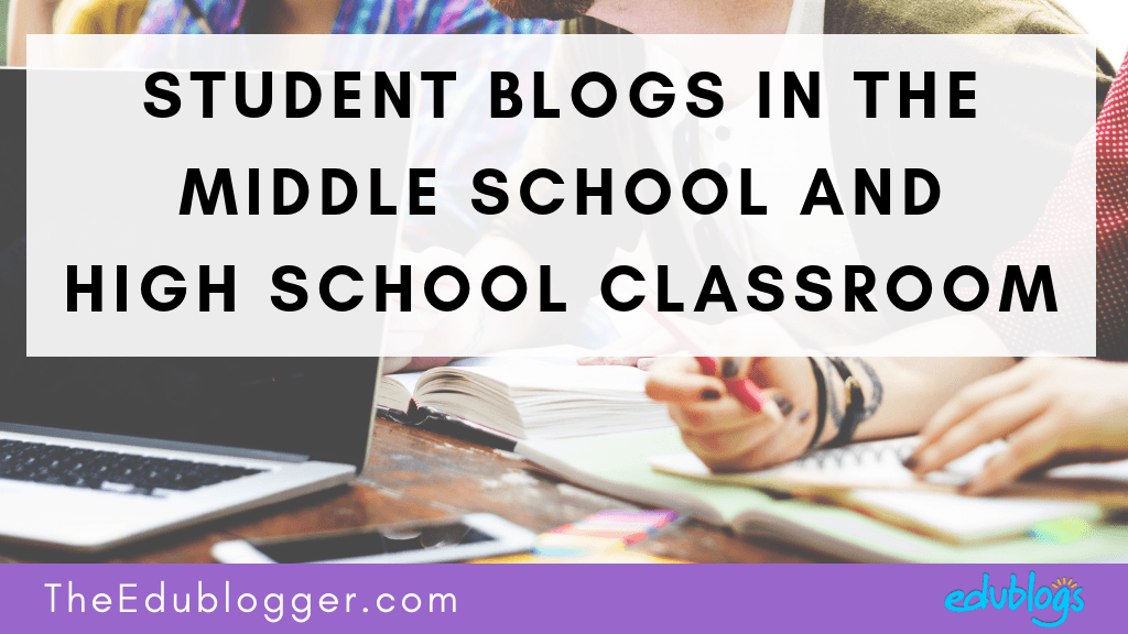 This post looks at how student blogs are used in a middle school and high school classroom. Two teachers share their stories and tell us about their successes and challenges. The Edublogger