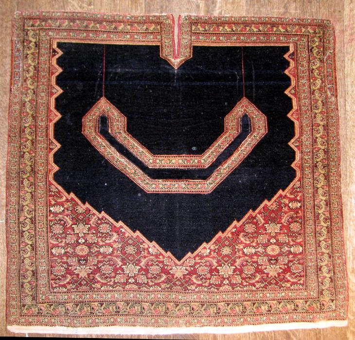 013 Senneh saddle rug