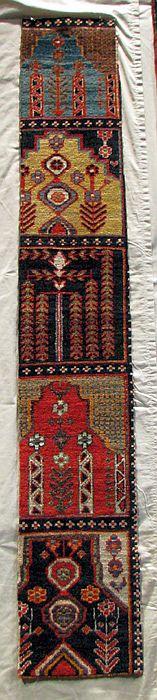 065 Bakhtiyari garden carpet fragment