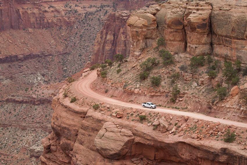 Опасная дорога в США