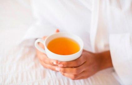чай, чашка зеленого чая