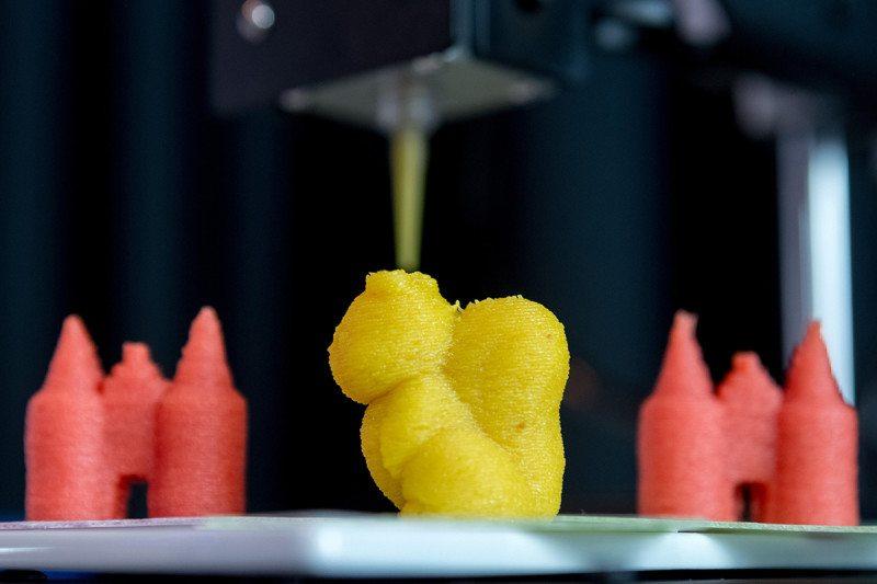 3D печать еда пища