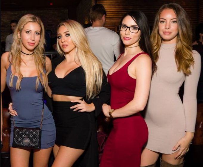 Hottest girls of Los Angeles, California