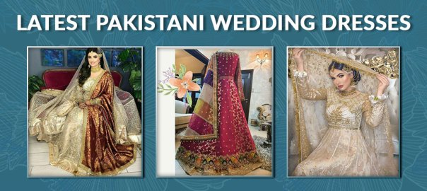 Pakistani wedding dresses for Barat