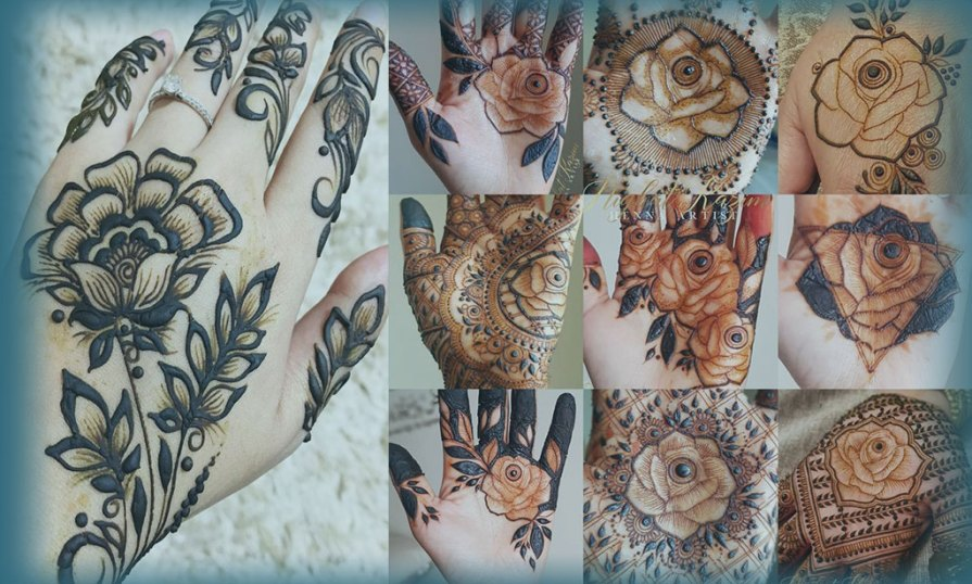 Floral Mehndi Designs Product Image