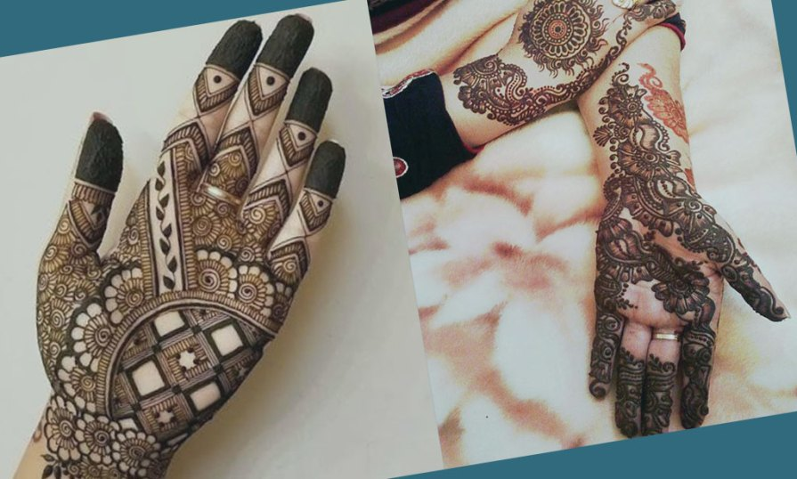 Palm Mehndi Designs For Eid Product Image