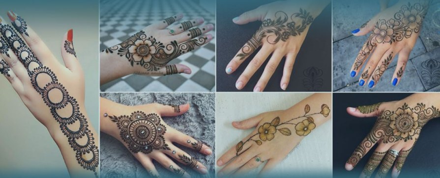 What Are Some Easy Mehndi Designs